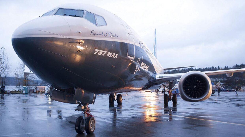 Arkivfoto af en Boeing 737 Max - Washington, USA, 2015. REUTERS.
