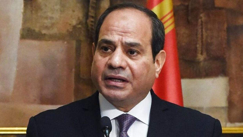 EDen egyptiske præsident Abdel Fattah al-Sisi
