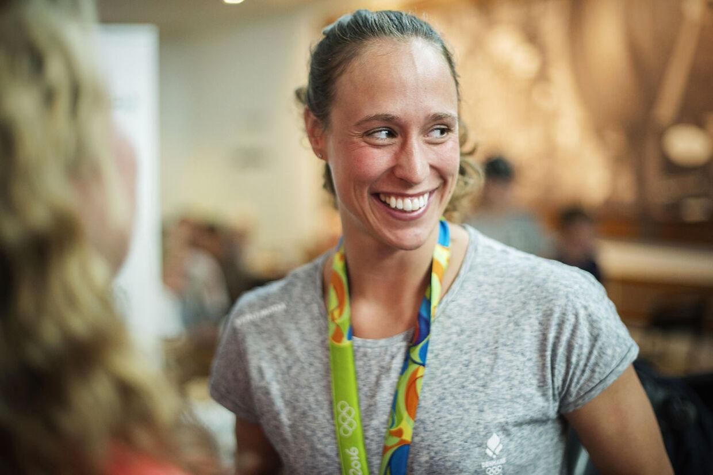 Rikke Møller var med til at vinde OL-bronze i holdmedley i 2016.