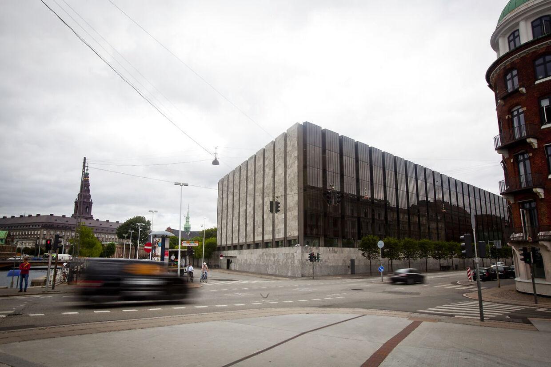 Danmarks Nationalbank i Havnegade i København.