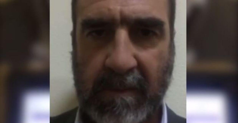 Screendump fra Cantona-videoen.