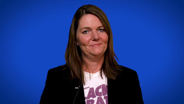 Søs Marie Serup, politisk kommentator.