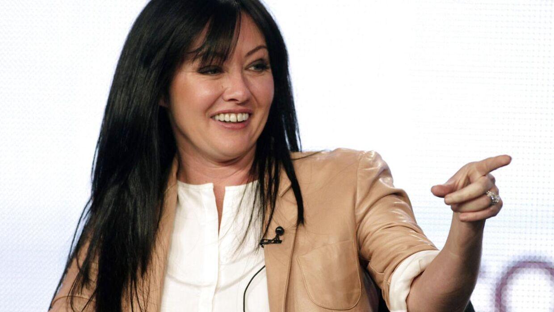 Shannen Doherty vender tilbage til rollen som Brenda Walsh. (Scanpix)