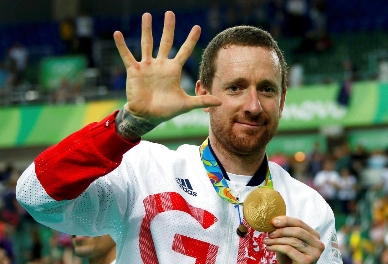 Bradley Wiggins snuppede OL-guld på banen i Rio - han har i alt otte OL-medaljer.
