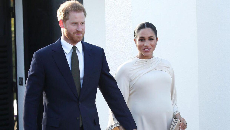 Prins Harry og Meghan Markle har ikke selv afsløret kønnet på deres kommende barn.