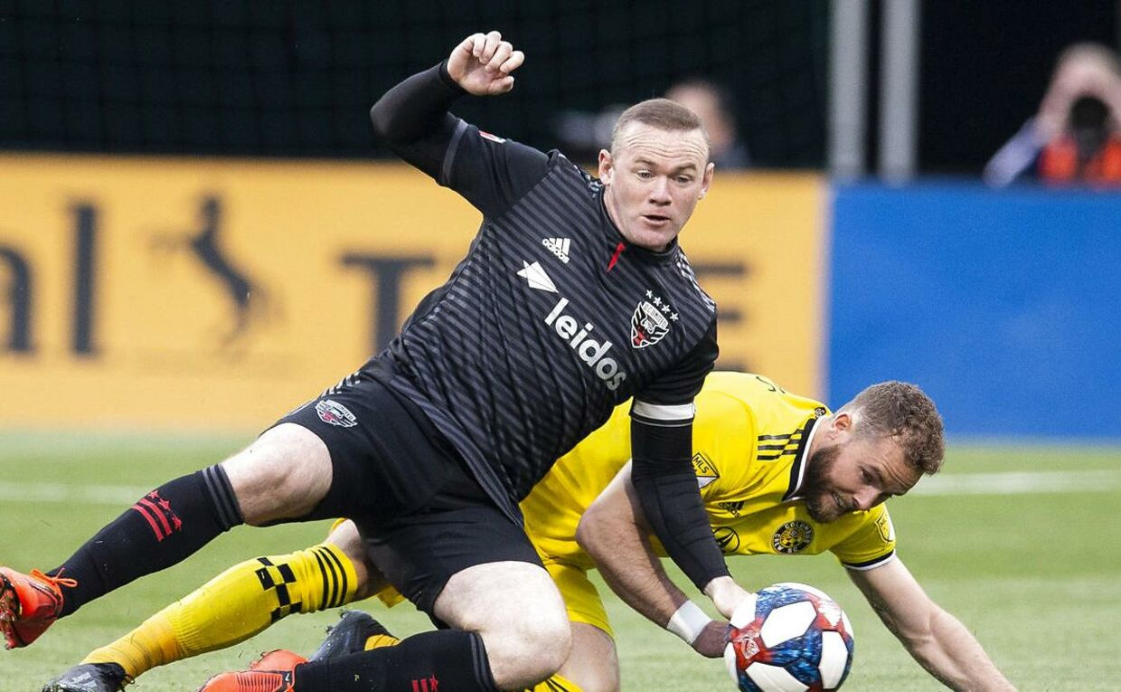 Wayne Rooney spiller i dag for D.C. United i den amerikanske hovedstad, Washington.