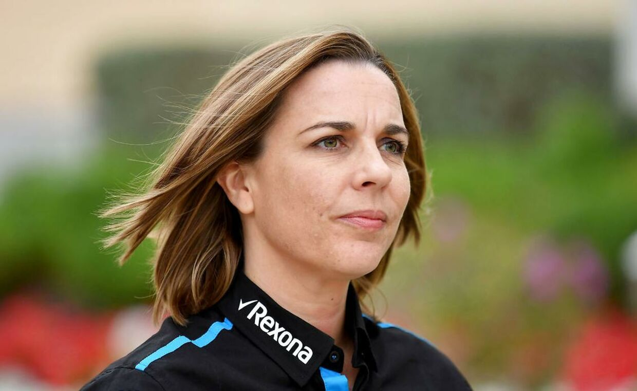 Claire Williams. Arkivfoto.