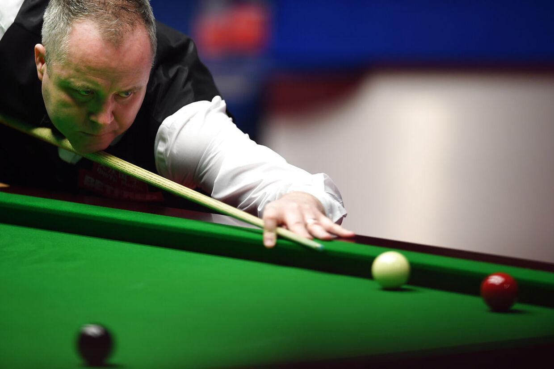 John Higgins ved verdensmesterskabet i snooker 2019.