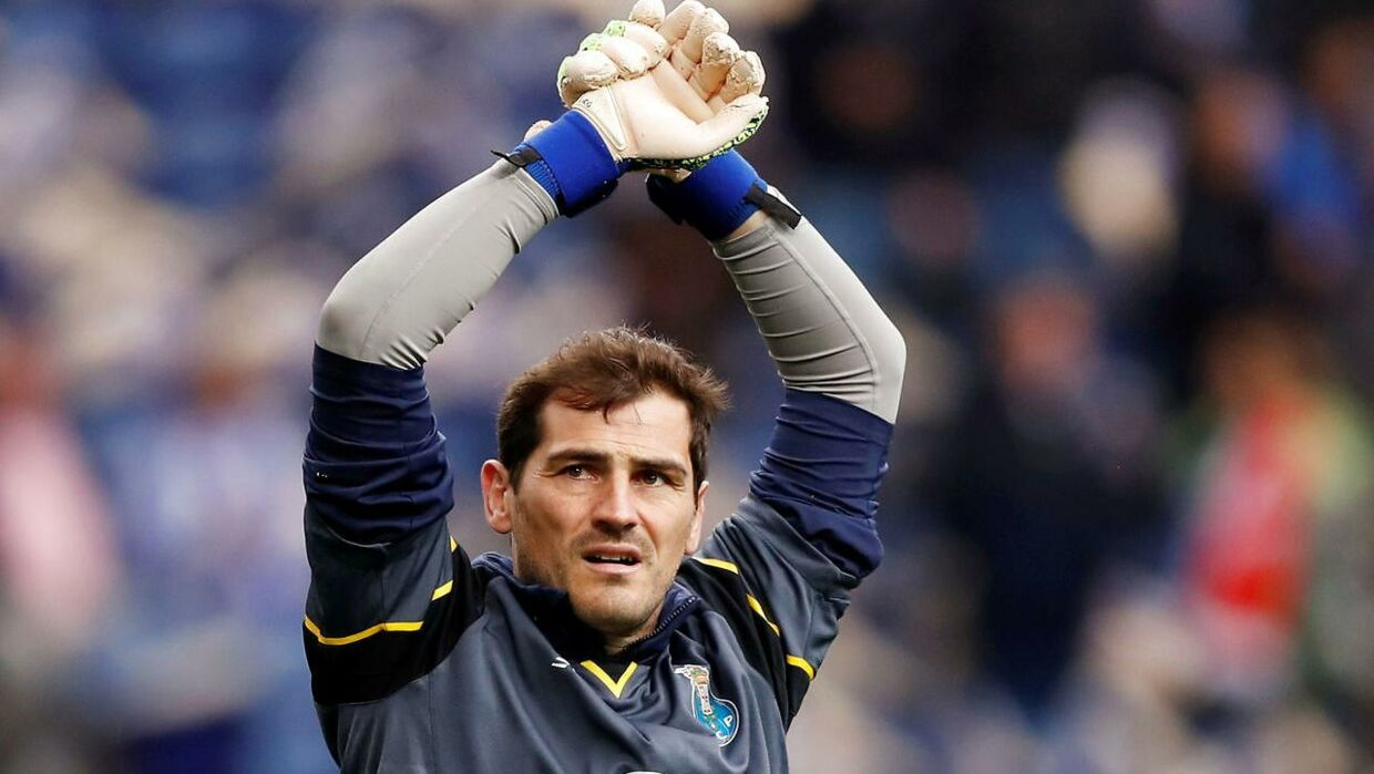 Iker Casillas stopper karrieren.