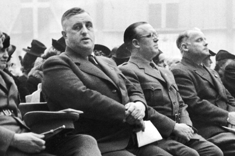 Frits Clausen, leder af DNSAP før og under anden verdenskrig. Ifølge Martin Krasnik har han flere ting til fælles med Rasmus Paludan.