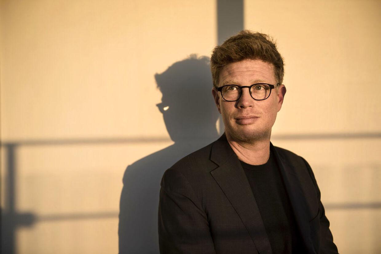 Martin Krasnik, Weekendavisens chefredaktør.