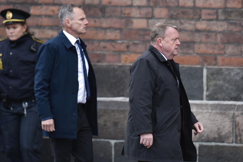Lars Løkke Rasmussen deltog i sin egenskab af statsminister. Kronprinsparret og deres fire børn var med som personlige venner af Holch Povlsen-familien. Mads Claus Rasmussen/Ritzau Scanpix