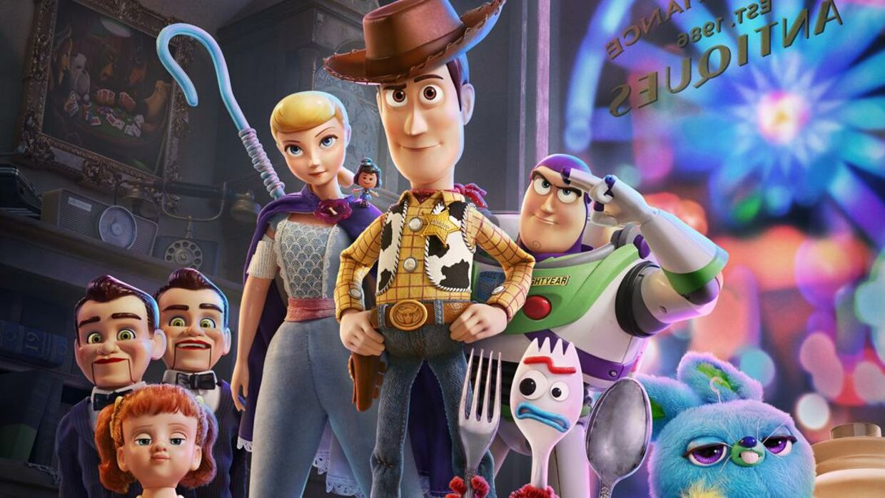 'Toy Story 4' - The Toys are back in town. Wood og Buzz vender tilbage.