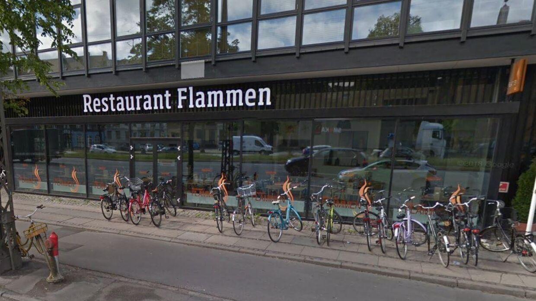 ARKIVFOTO af en af Restaurant Flammens restauranter i København.