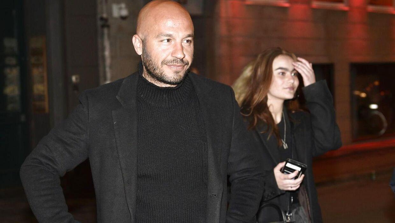 Skuespilleren Dar Salim var blandt gæsterne på Arch søndag aften.