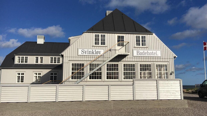 Det nye Svinkløv Badehotel.