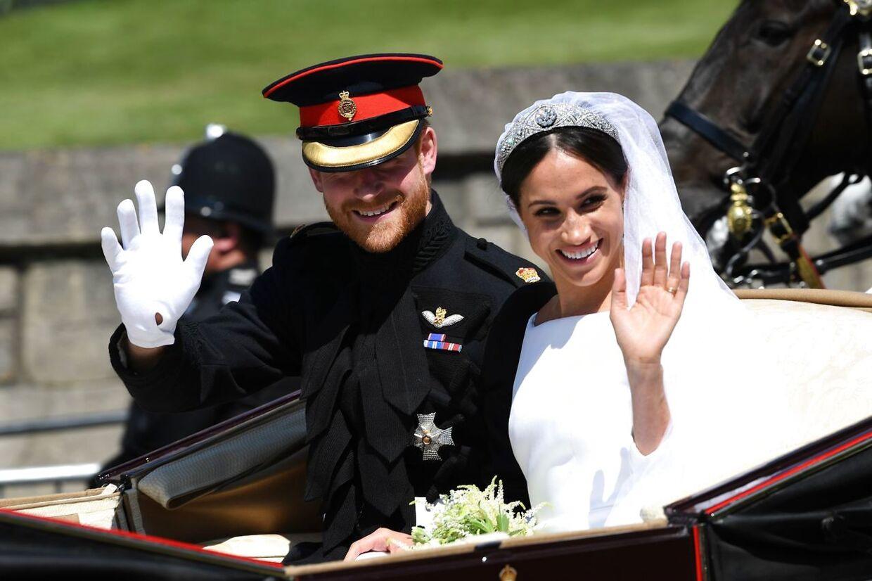 Et lille års tid efter brylluppet er Harry og Meghan nu forældre til en lille dreng.