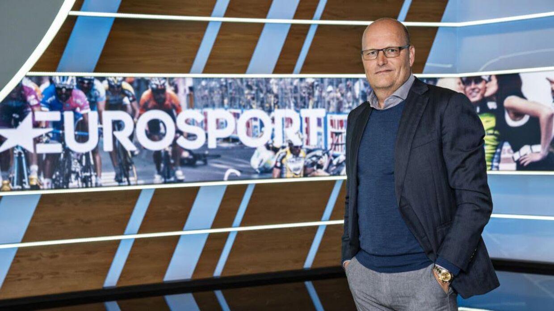 Bjarne Riis hos sine nye arbejdsgiver.