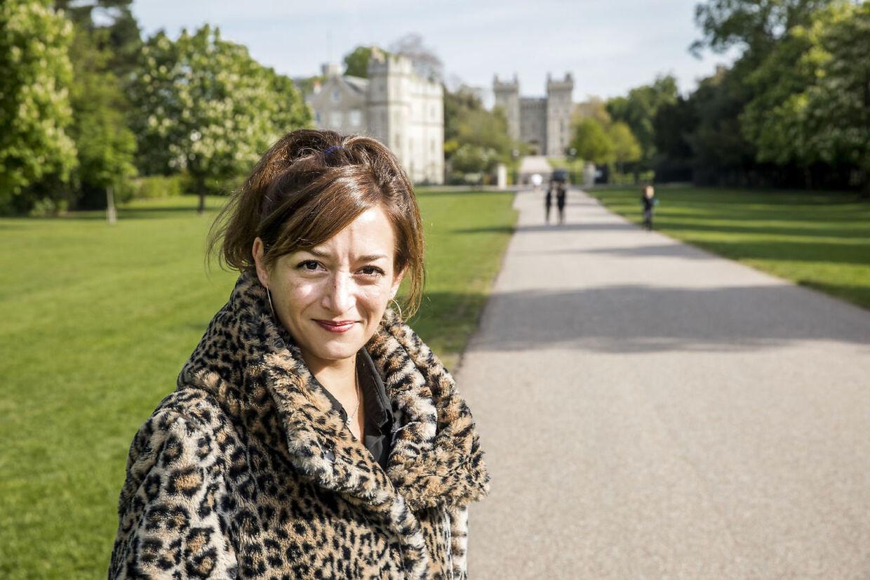 Journalist Maud Garmy har været ved Windsor i tre uger. Lidt ved et uheld - men så fangede bordet.