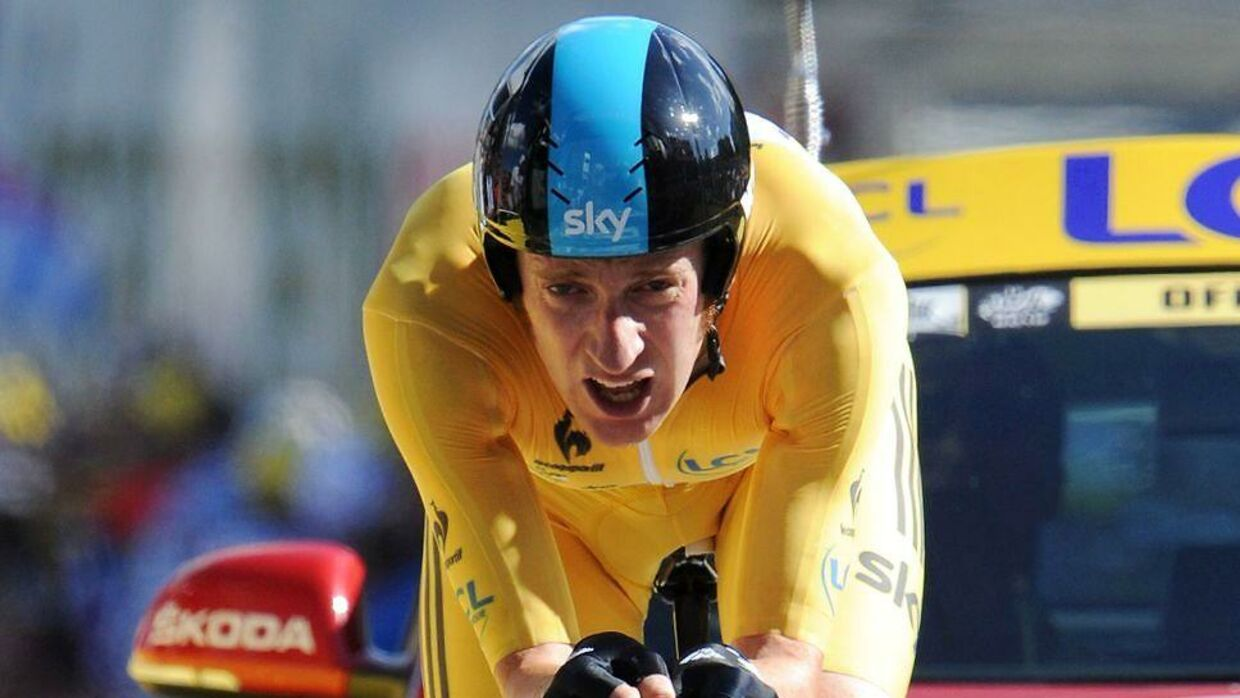 Bradley Wiggins vandt Tour de France i 2012.