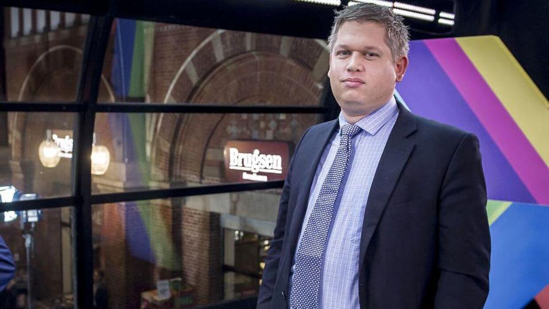 Rasmus Paludan var overraskende nok den partiformand, der fik fjerdemest taletid af de i alt 13 tilstedeværende. (Foto: Mads Claus Rasmussen/Ritzau Scanpix)