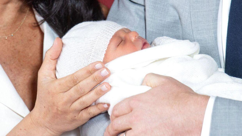 Her ses Archie Harrison Mountbatten-Windsor.