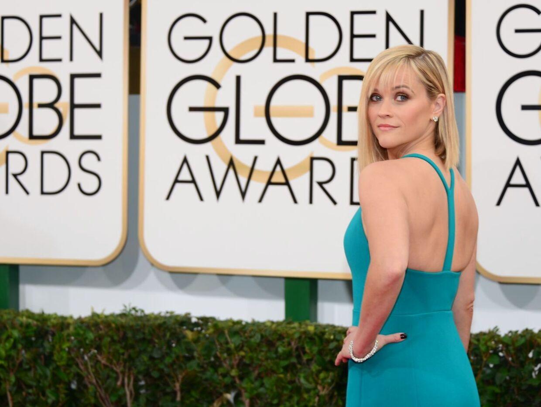 Reese Witherspoon var næsten ikke til at kende, da hun ankom til årets Golden Globe-uddeling.