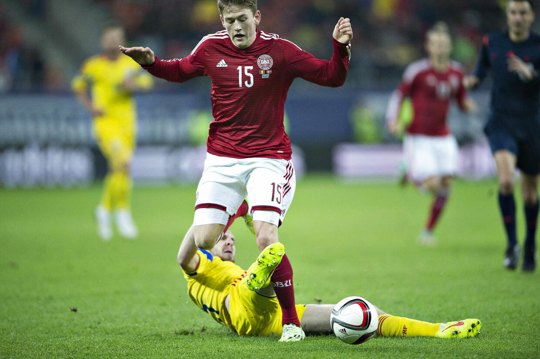 Danmark mod Rumænein