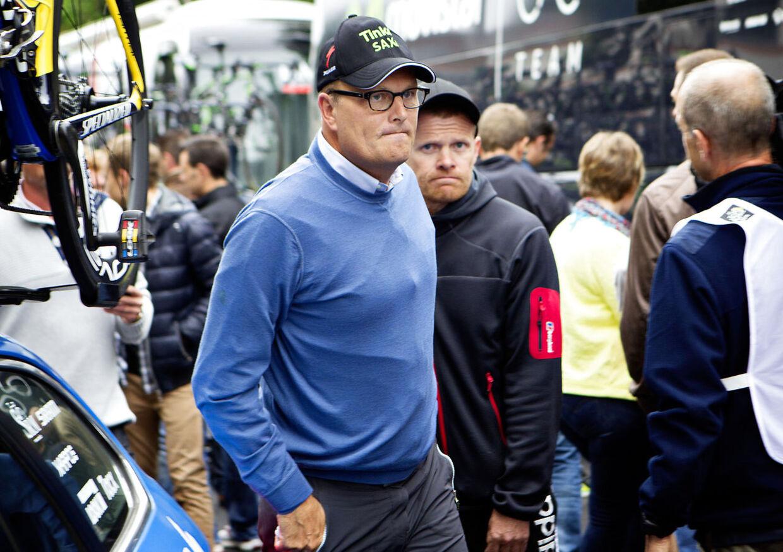 Bjarne Riis er på vej mod et ydmygende exit fra international cykelsport.