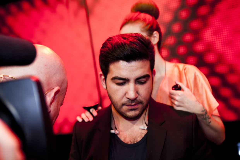 En trist Ercan må konstatere, at han er færdig i X Factor.