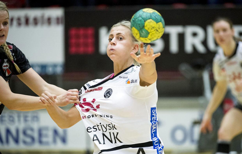 Nathalie Hagman scorede 12 gange, da Team Tvis Holstebro besejrede Hypo Niederösterreich.