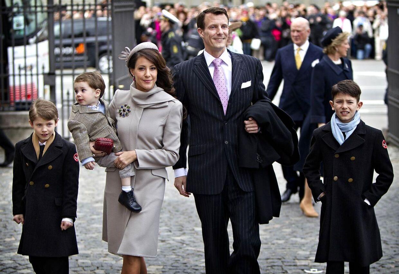 Royal barnedåb i Holmens Kirke i april. Ifølge kalenderen kan det have været i forbindelse med den royale fest, at Marie kom i lykkelige omstændigheder.
