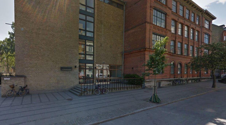 Ny Hollænderskolen på Frederiksberg Foto: Google Streetview