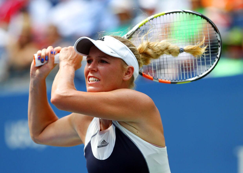 Caroline Wozniacki er klar til tredje runde i New Zealand.