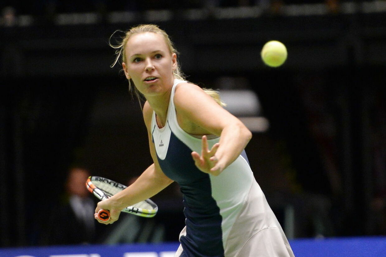 Caroline Wozniacki plays against Serena Williams in Champions Battle in Herning, Denmark thursday November 26th. 2015