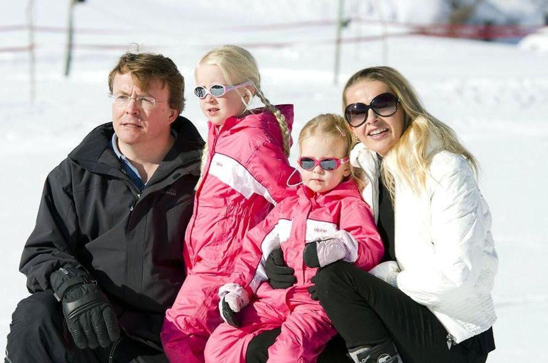 Den hollandske prins Johan friso var på skitur, da han blev begravet i en lavine.