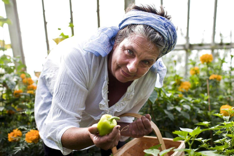Camilla Plum er selvlært kogekone, foredragsholder, kogebogsforfatter og madskribent - og så har hun altid gået sine egne veje. Arkivfoto.