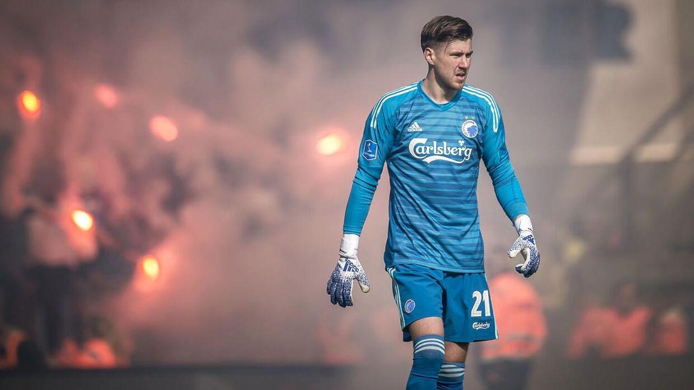 FC Københavns Jesse Joronen er ikke bekymret over, at klubben har hentet Sten Grytebust i OB.