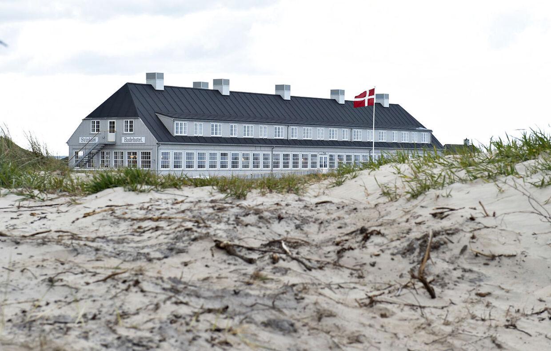 Svinkløv Badehotel genåbner og ligner til forveksling til gamle badehotel. (Foto: Henning Bagger/Ritzau Scanpix)