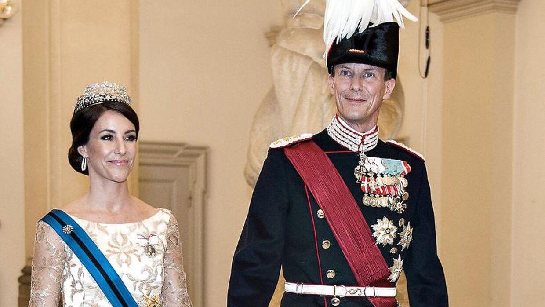 Arkiv. Prins Joachim og prinsesse Marie.