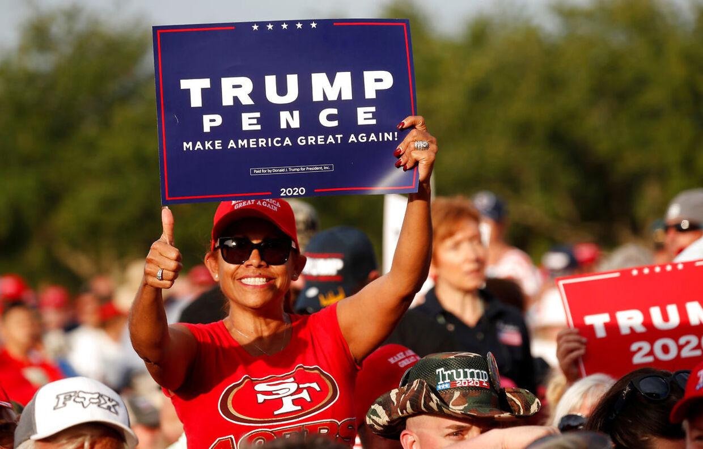 Til vælgermøde med Donald Trump i Panama City, Florida.