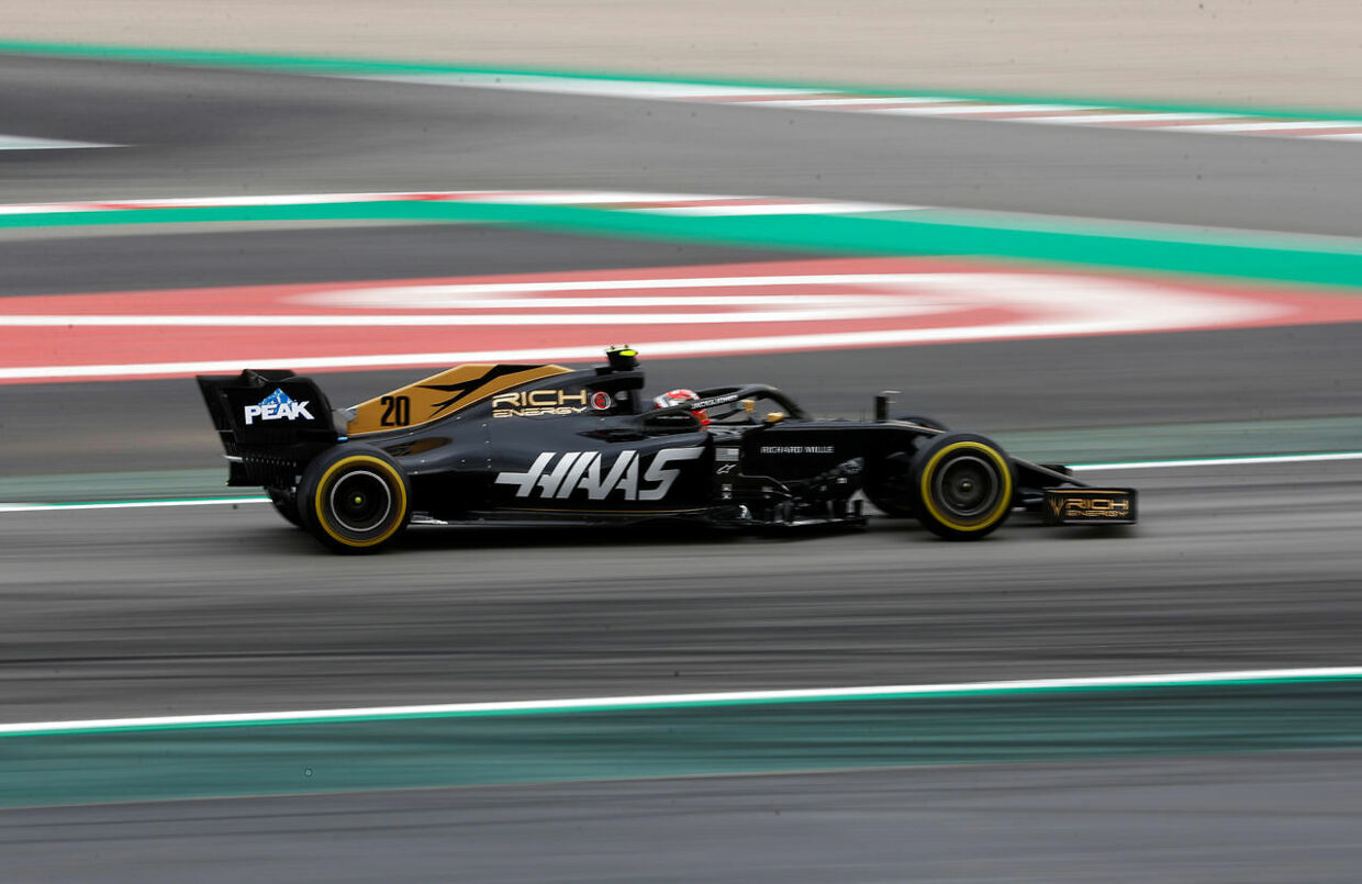 Formula One F1 - Spanish Grand Prix - Circuit de Barcelona-Catalunya, Barcelona, Spain - May 11, 2019 Haas' Kevin Magnussen during practice REUTERS/Juan Medina