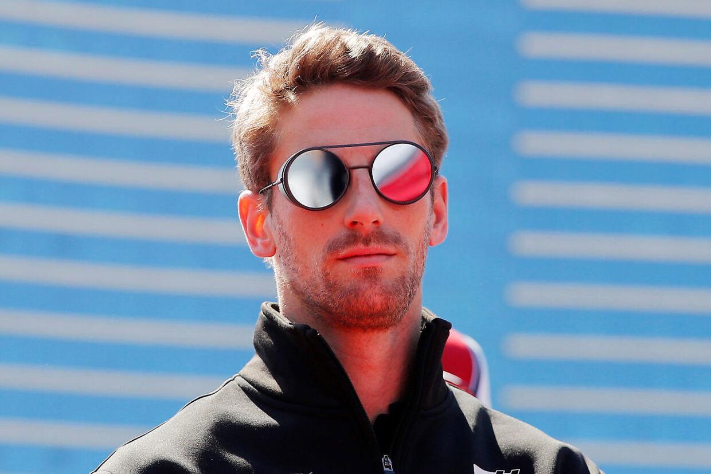 Romain Grosjean fik i Barcelona point for første gang i denne sæson.