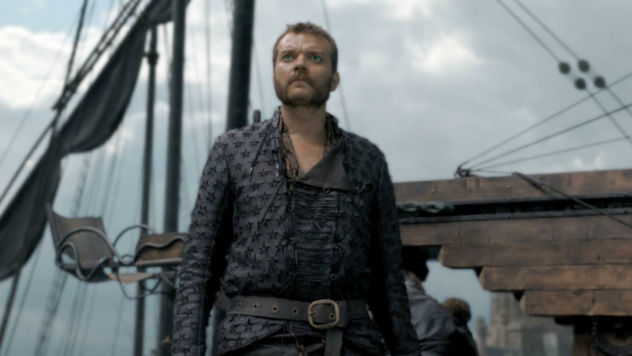 Pilou Asbæk i rollen som Euron Greyjoy i 'Game of Thrones'.