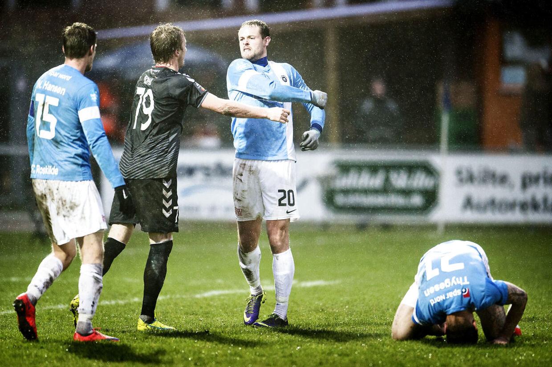 FC Roskilde mod AaB tirsdag den 5. april 2016 i pokalturneringen.