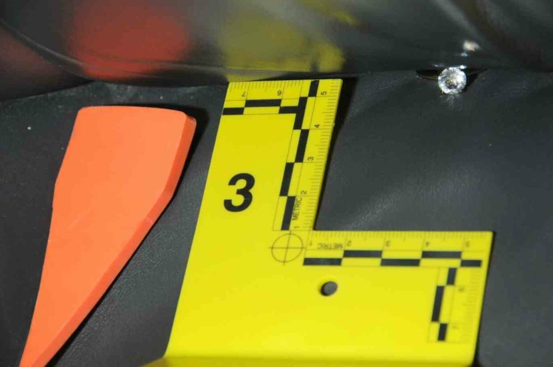 På bagsædet af Peter Chadwicks bil lå hans kones vielsesring. Foto: Newport Police Department