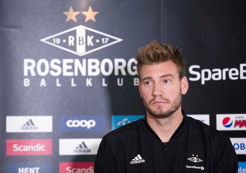 Nicklas Bendtner kom til Rosenborg for to år siden fra Nottingham Forest i Englands næstbedste række.