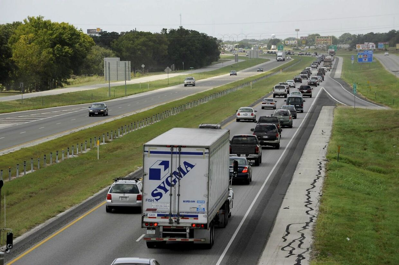 DEn 70-årgie mand blev stoppet på US Interstate 10.