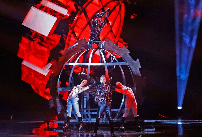 Islands sang til Eurovision hedder 'Hatrið mun sigra' ('Hadet vil sejre')