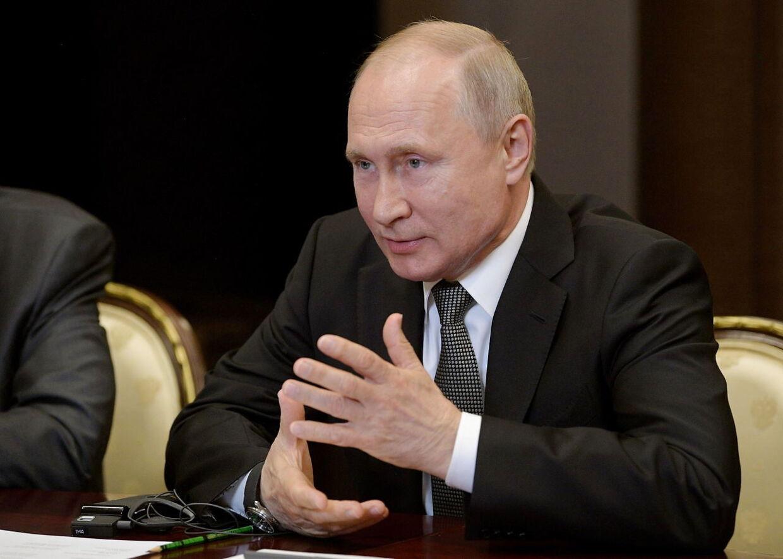 Den russiske præsident Vladimir Putin. (Arkivfoto)